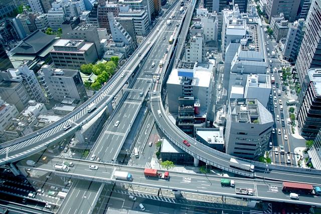 近畿自動車道 長原IC 出入口夜間閉鎖及び西名阪自動車道、阪神高速14号松原線等で夜間通行止め等を実施