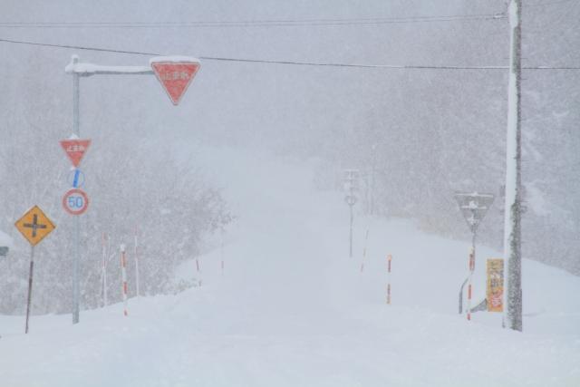 1月7日(木)から1月9日(土)頃にかけての暴風雪と大雪予報による通行止めの可能性について