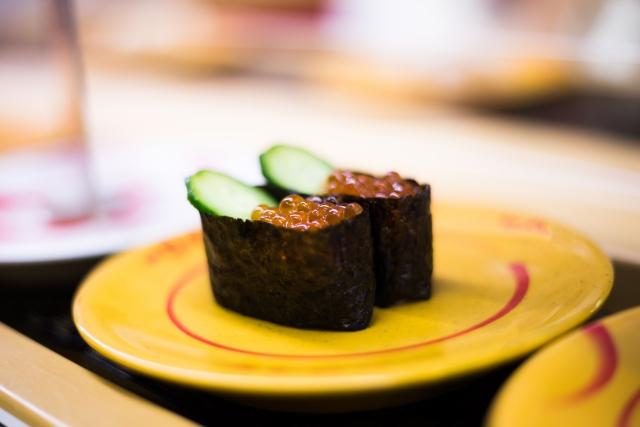 コロナの影響-回転寿司店-
