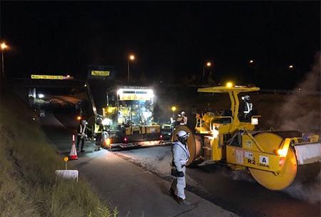 山陽自動車道 三木小野IC出入口ランプ(国道175号接続側)の夜間閉鎖を実施